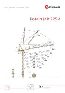 Potain MR 225A