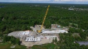Tilt Wall Ontario uses tilt-up construction for resort