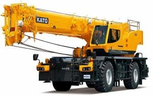 Kato new SR500LX rough terrain crane.