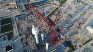 Mammoet contracted for Texas refinery expansion.