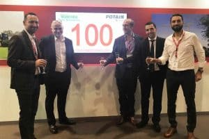 100 Potain crane orders for Valente
