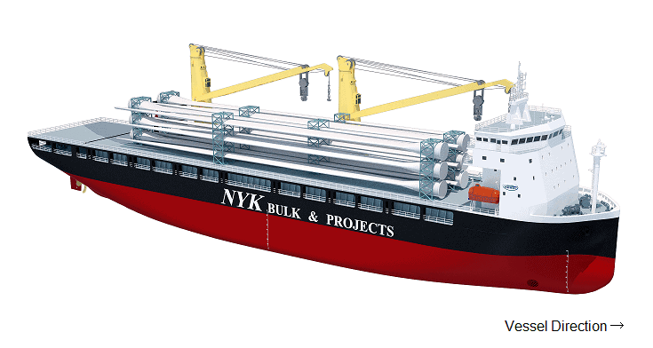 Illustration of the new next gen heavy-lift vessel.