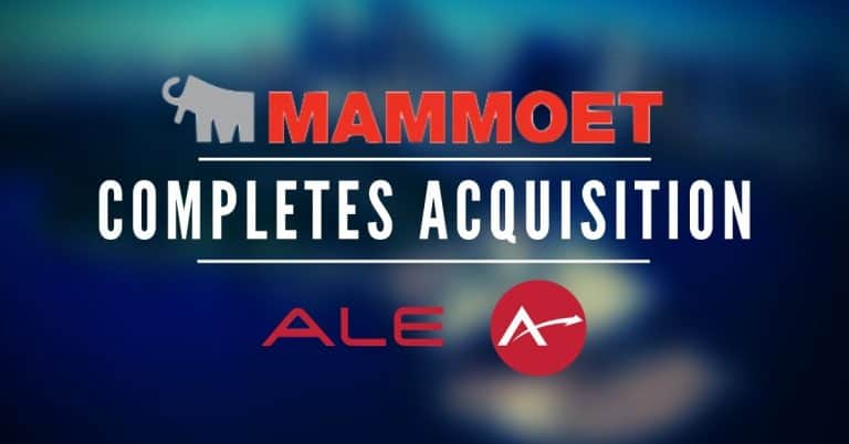Mammoet Completes Ale Acquisition