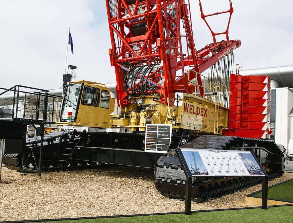 SCX3500-3 in Bauma 2016 with Weldex colours