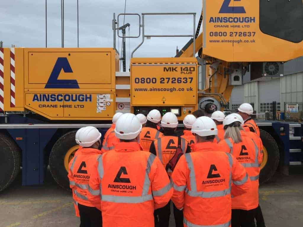 Liebherr Mk140 For Ainscough 1