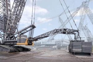 Liebherr Lr1800 1.0 On Its First Load Test
