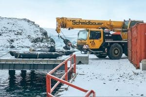 Liebherr Antarctic Crane Defreeze News