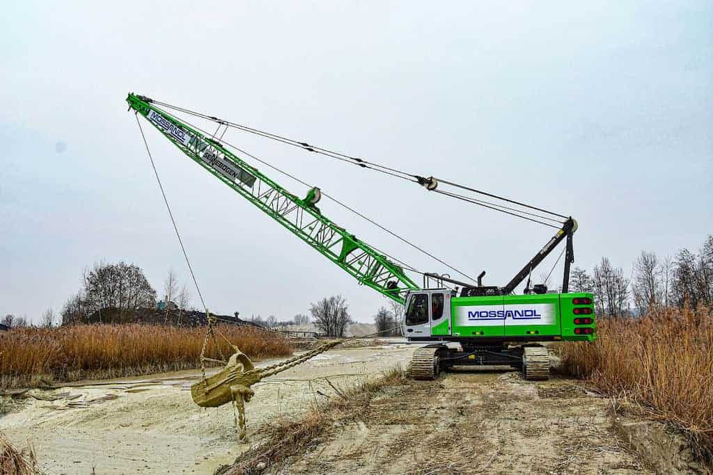 Sennebogen 655e Hd Green Solution For Gravel Extraction