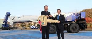Tadano Donate 3rd Crane To Chile