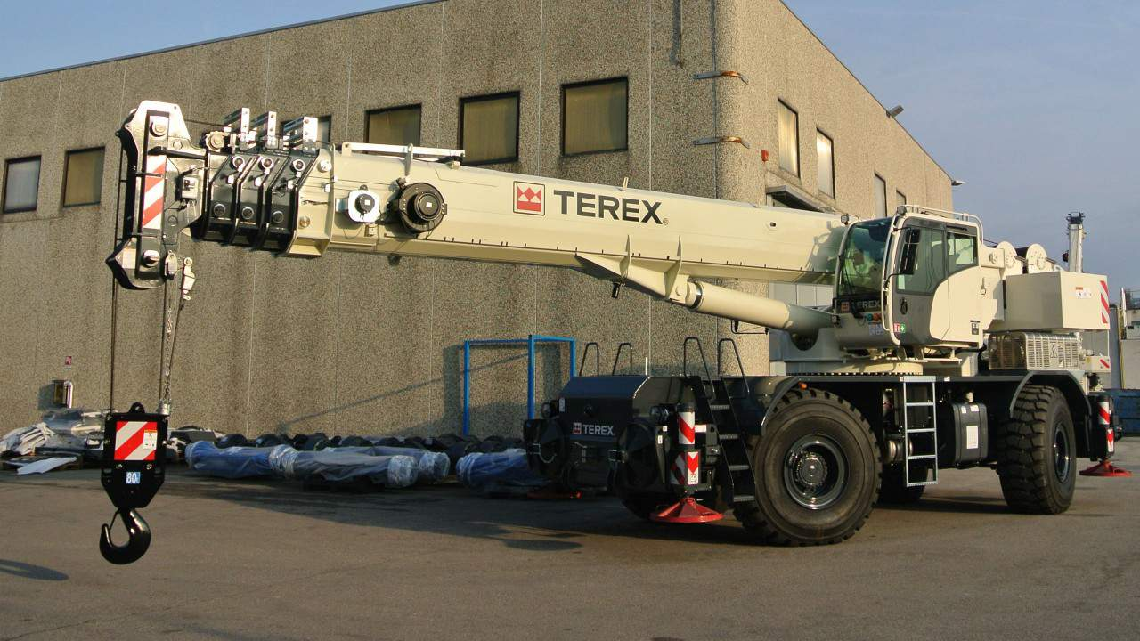 Terex TRT 80 US Rough Terrain