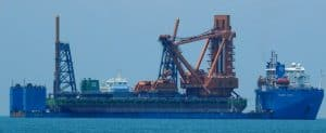 Heavy Lift Vessel Collision In Curacao