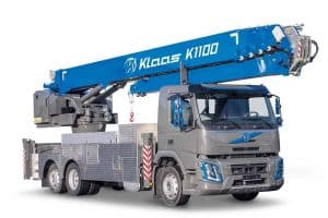Klaas Reveals New Truck Crane 1