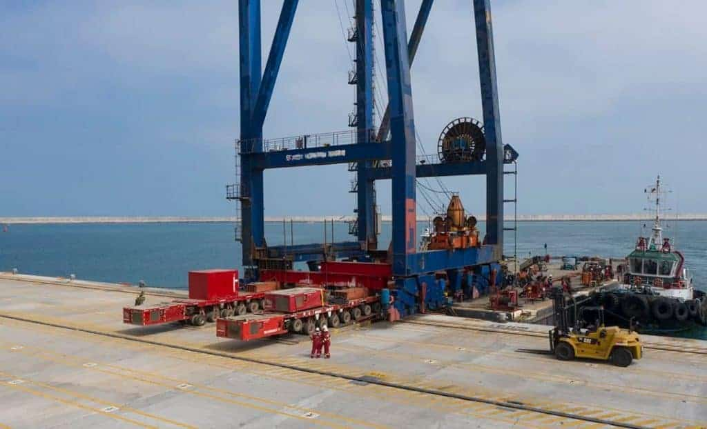 Mammoet Completes Last Phase Of Vercruz Terminal Expansion 1