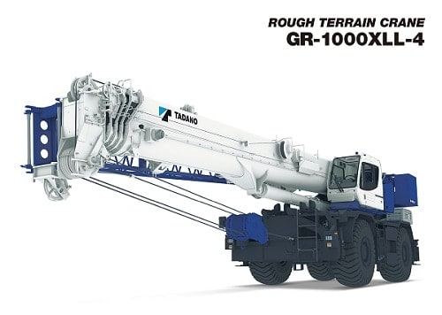 Photo of Tadano GR1000XLL-4
