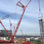 Mammoet Completes Lift At Pennsylvanian Petrochemical Plant