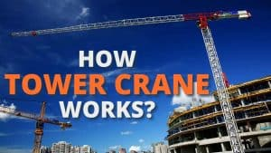how tower crane works