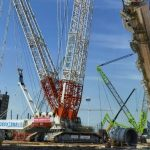 Zoomlion ZCC3200NP Lifts Largest Propylene Tower